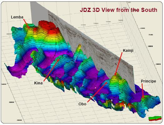 JDZ Structural Elements, Source: Addax Petroleum