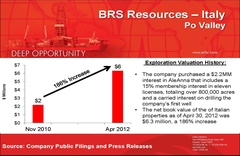 ERHC Energy Presentation Slides from October 2012 Special Meeting of Shareholders
