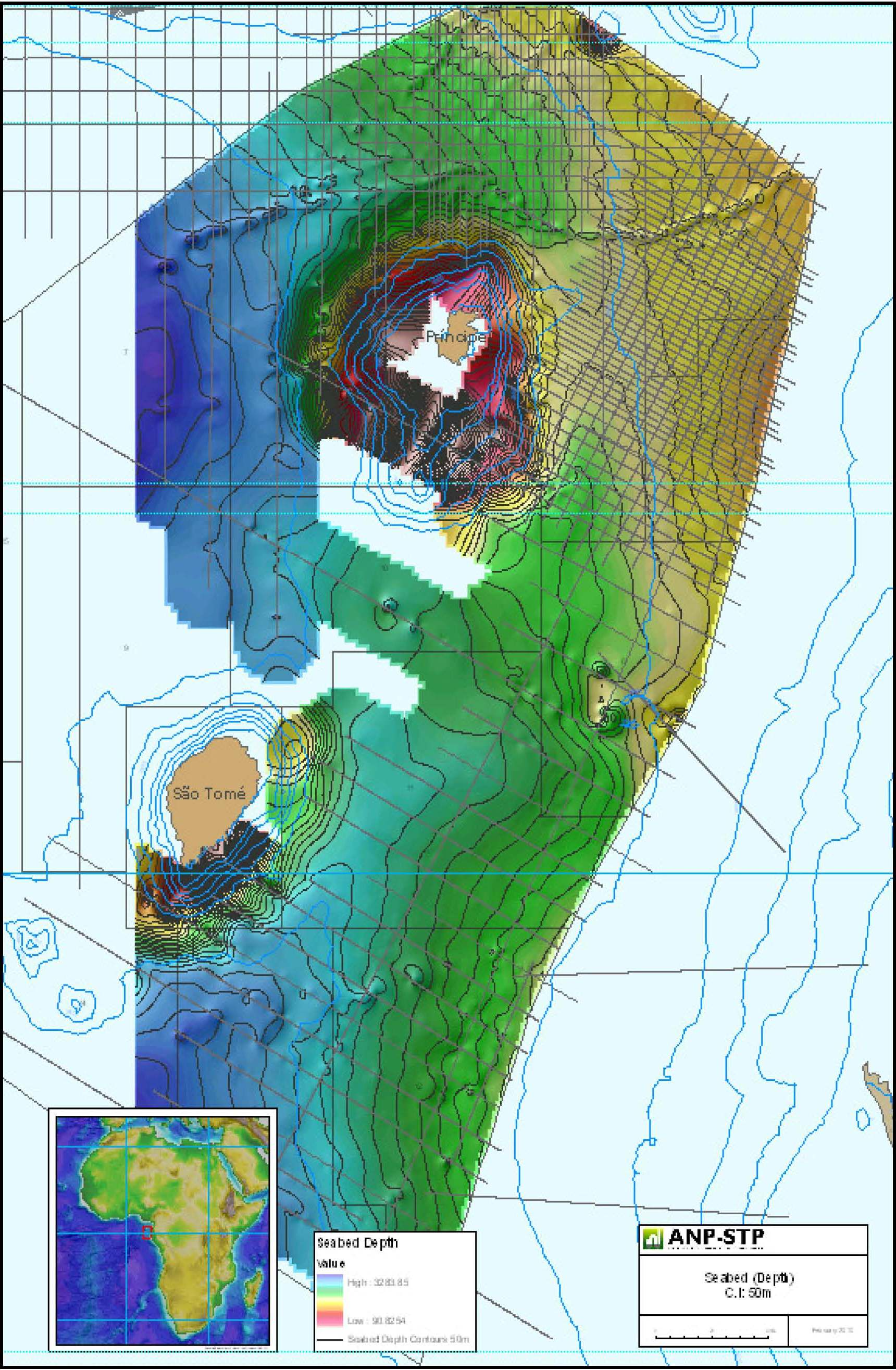 EEZ Bathymetry