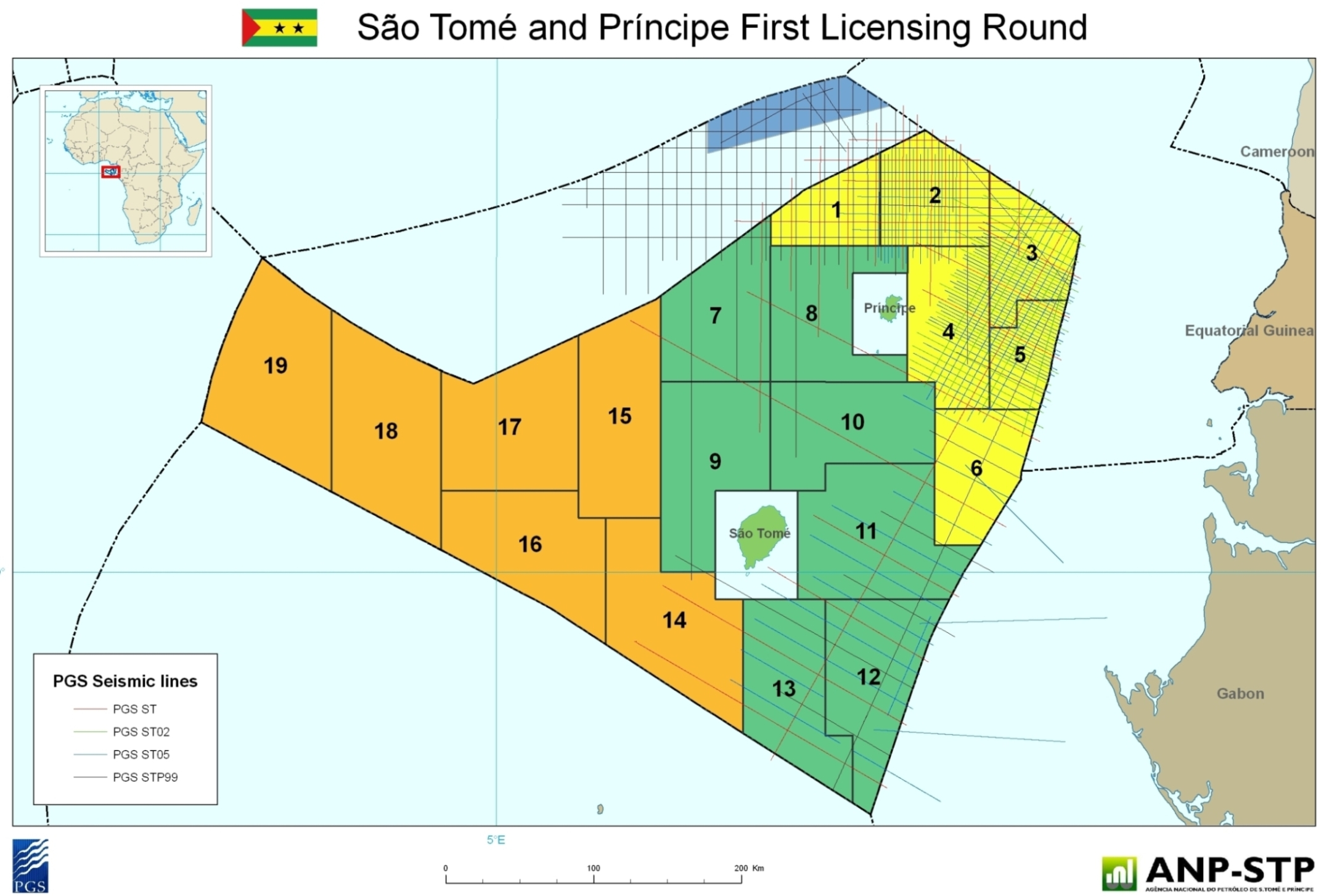 Sao Tome & Principe Exclusive Economic Zone