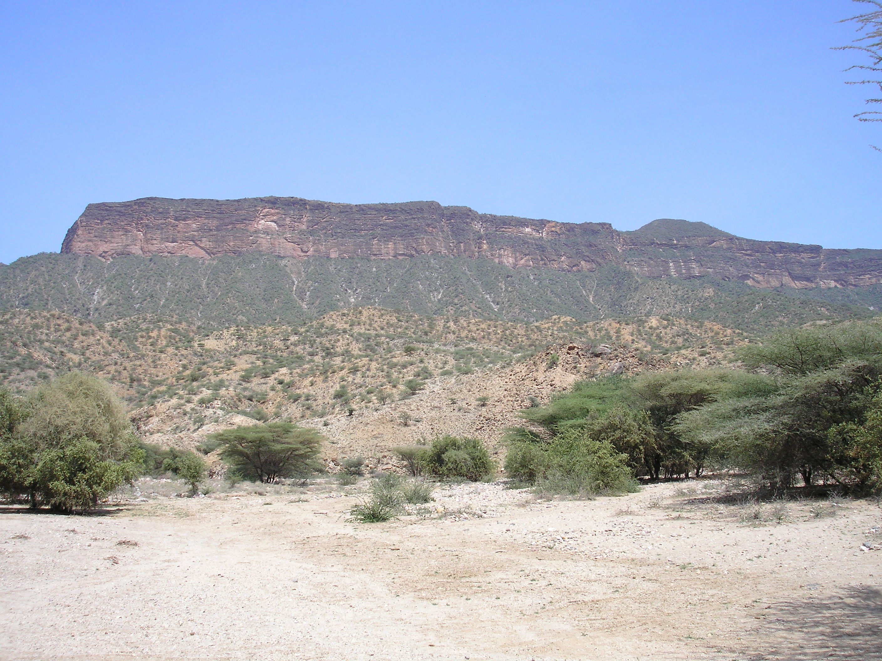 Prominent Topographical Feature of the North Tukana Area of Kenya