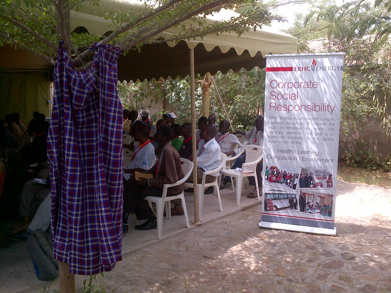 ERHC Energy Meetings with Community and Government Leaders in Turkana County, Northern Kenya