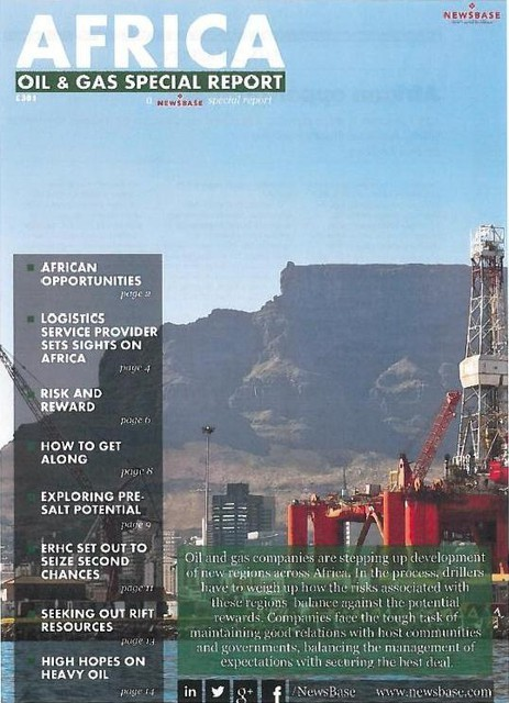 ERHC in Newsbase Africa Oil & Gas Special Report 2014